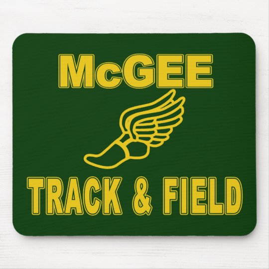 McGee Track & Field Mouse Pad