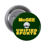 McGee Unified Sports Pinback Buttons
