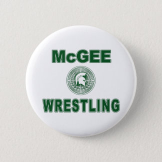 McGee Wrestling Button