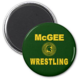 McGee Wrestling Magnet