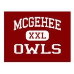 McGehee - Owls - High School - McGehee Arkansas Postcard