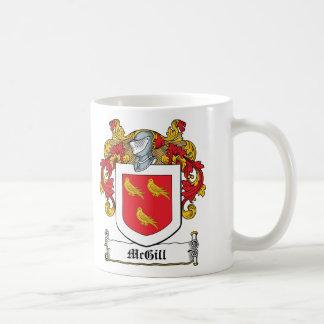 McGill Family Crest Coffee Mug