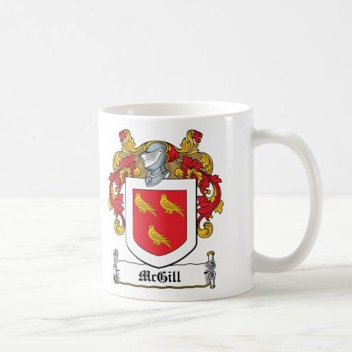 McGill Family Crest Mug