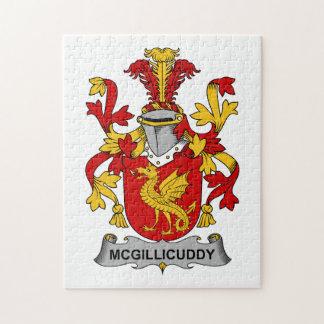McGillicuddy Family Crest Jigsaw Puzzle