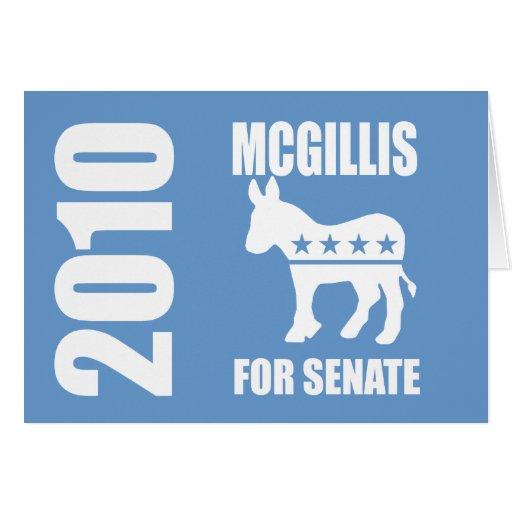 MCGILLIS 2010 GREETING CARD
