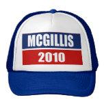 MCGILLIS 2010 MESH HATS
