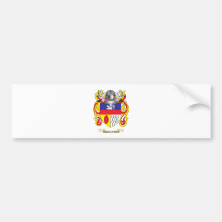 McGilloway Coat of Arms (Family Crest) Bumper Sticker