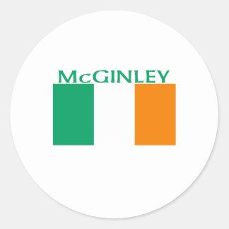 McGinley Classic Round Sticker