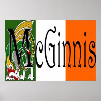 McGinnis Celtic Dragon Print