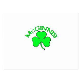 McGinnis Post Cards