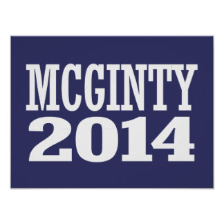 McGinty - Kathleen McGinty 2016 Poster