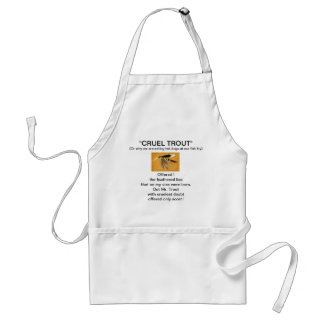"""McGinty Wet Fly-Cruel Trout""  Apron"
