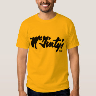 McGintys Pub Regal Tiger Prototype Shirt