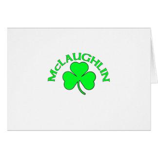 McGlaughlan Greeting Card