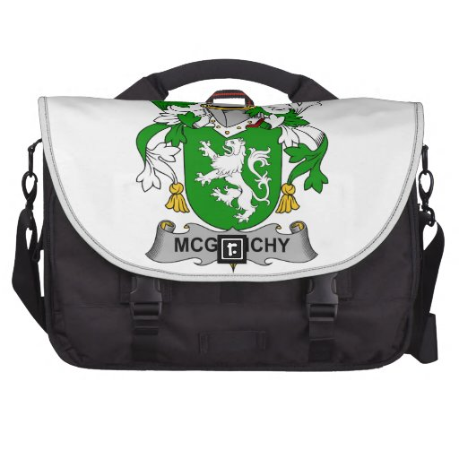 McGlinchy Family Crest Bag For Laptop