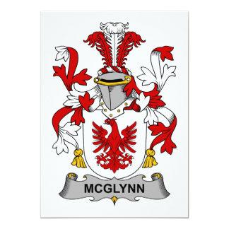McGlynn Family Crest 5x7 Paper Invitation Card