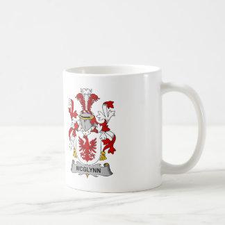 McGlynn Family Crest Classic White Coffee Mug