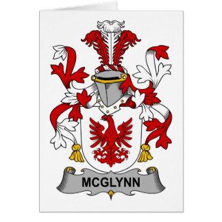 McGlynn Family Crest Greeting Card