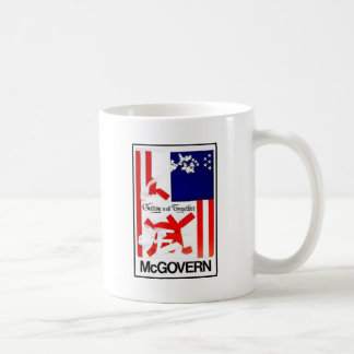 Mcgovern 1972 taza básica blanca