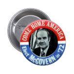 McGovern - botón Pin