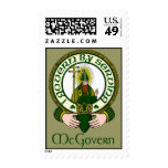 McGovern Clan Motto Postage Stamps
