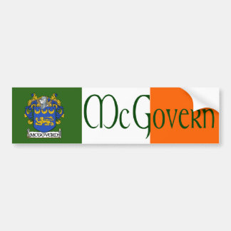 McGovern Coat of Arms Bumper Sticker