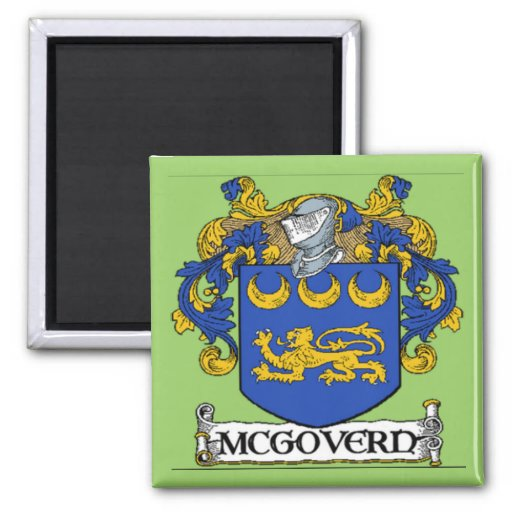 McGovern Coat of Arms Magnet