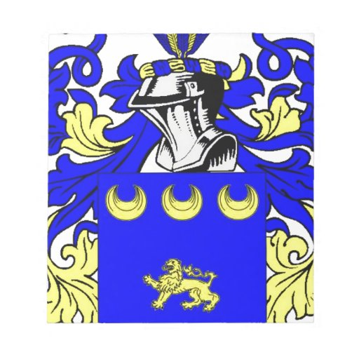 McGovern Coat of Arms Memo Pads