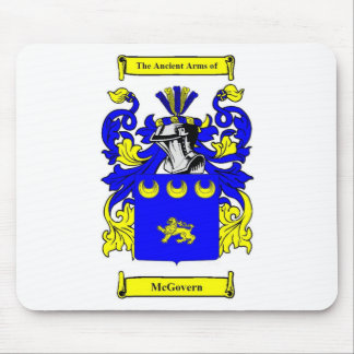 McGovern Coat of Arms Mouse Pad