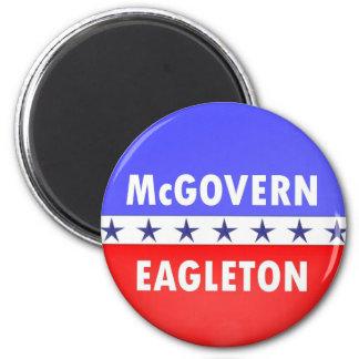 McGovern Eagleton Imán Redondo 5 Cm