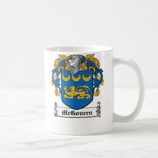 McGovern Family Crest Classic White Coffee Mug