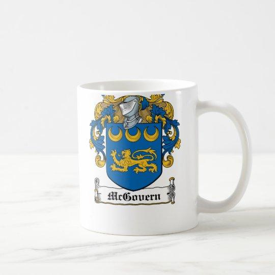 McGovern Family Crest Coffee Mug