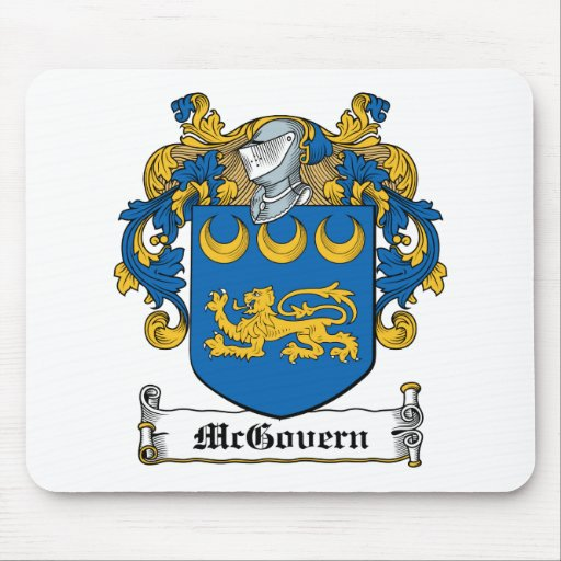 McGovern Family Crest Mouse Mats