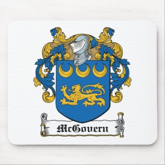 McGovern Family Crest Mouse Pad