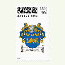 McGovern Family Crest Stamps