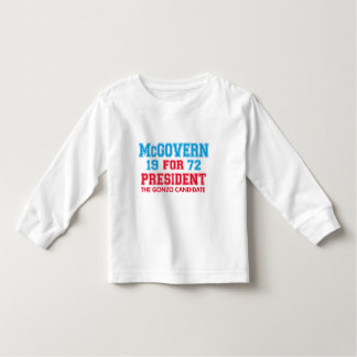 McGovern Gonzo Candidate Toddler T-shirt