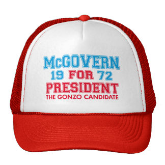 McGovern Gonzo Candidate Trucker Hat