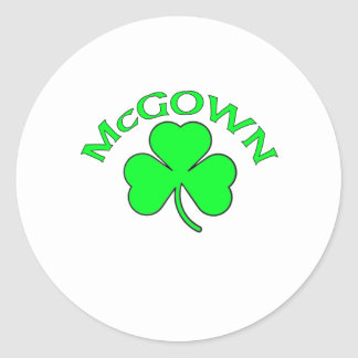McGown Classic Round Sticker