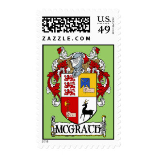 McGrath Coat of Arms Postage Stamps