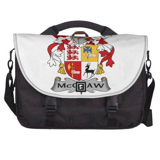 McGraw Family Crest Computer Bag