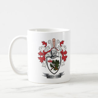 McGregor Family Crest Coat of Arms Coffee Mug