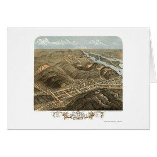 McGregor, IA Panoramic Map - 1869 Card