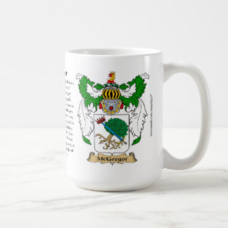 McGregor name, the Origin, the Meaning and the Cre Coffee Mug