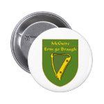 McGuire 1798 Flag Shield 2 Inch Round Button
