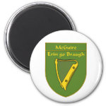 McGuire 1798 Flag Shield 2 Inch Round Magnet