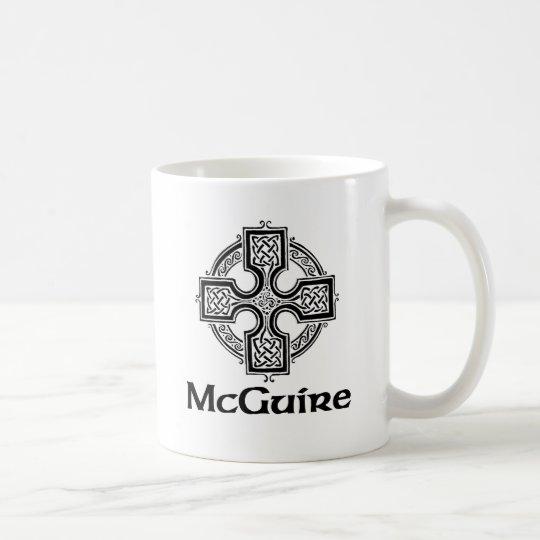 McGuire Celtic Cross Coffee Mug