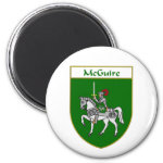 McGuire Coat of Arms/Family Crest 2 Inch Round Magnet