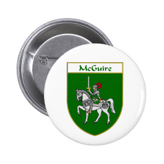 McGuire Coat of Arms/Family Crest Button