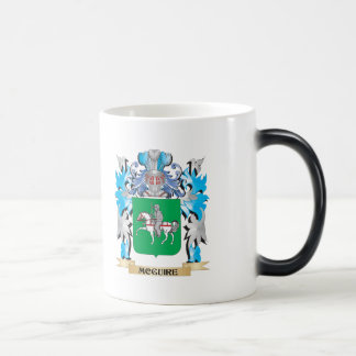 Mcguire Coat of Arms - Family Crest 11 Oz Magic Heat Color-Changing Coffee Mug