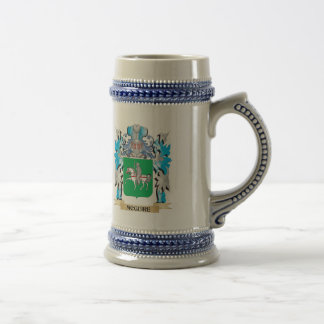 Mcguire Coat of Arms - Family Crest 18 Oz Beer Stein